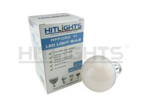 HitLights A19 LED Light Bulb / E26 Base / 6W / 40W Replace / 380 Lumen / Non-Dimmable / UL Listed/ 2700K / Warm White