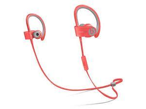 Beats by Dr. Dre POWERBEATS2 WIRELESS IN-EAR HEADPHONES PINK SPORT Model MKPT2AM/A