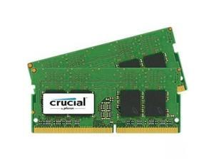 Crucial 16GB (2 x 8G) 260-Pin DDR4 SO-DIMM DDR4 2400 (PC4 19200) Notebook Memory Model CT2K8G4SFS824A