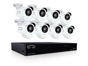 Night Owl 8 Channel 1080p HD Video Security DVR with 1TB HDD, and 8 x 1080p Wired Infrared Cameras