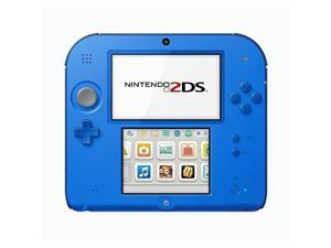 Nintendo 2DS with Mario Kart 7 - Electric Blue