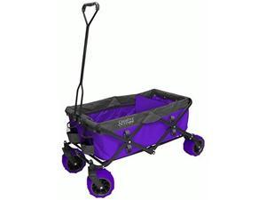 CREATIVE OUTDOOR 900256 Fold Wagon All Terrain PurpGry