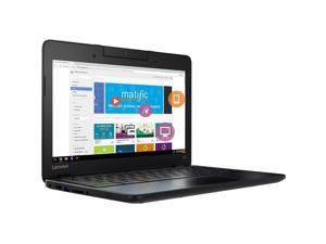 Lenovo - 80YS0003US - Lenovo N23 80YS0003US 11.6 LCD Chromebook - Intel Celeron N3060 Dual-core (2 Core) 1.60 GHz - 4 GB LPDDR4 - 16 GB Flash Memory Capacity - Chrome OS - 1366 x 768 - Black - Intel