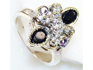 Artisan Handcrafted   Onyx Silver      Ring , Real Beauty Onyx Ring Size 7.5 Handmade Sterling Silver Onyx Ring