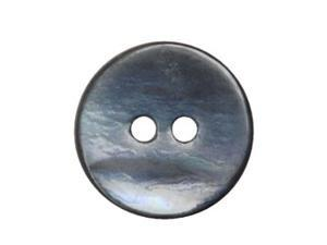 Buttons 26L / Dark Smoke Mussel Shell