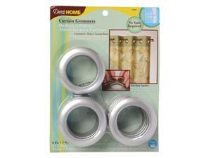 Dritz Curtain Grommets - 8/Pack - Silver