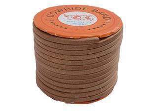 """Oak Leather Belt 1/4"""" x 100'"""