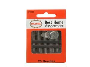Home Assortment Needles Size 1