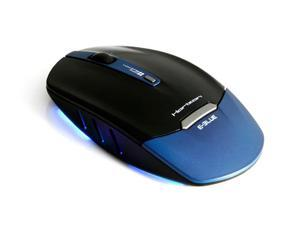 E-Blue Horizon 1750DPI 2.4GHz Mini Wireless Adjustable DPI Mouse (Blue)