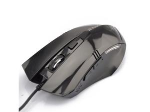 Legend Gaming Mouse USB 800 / 1600 / 2400 / 3200dpi Wired Optical Gaming Game Mouse - Black