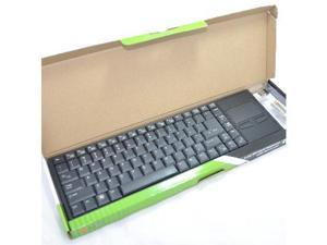 USB 2.4Ghz Slim Wireless Keyboard with touch pad touchpad mouse