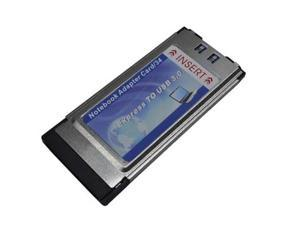 Express card ExpressCard 34mm to USB 3.0 1 Ports Adapter Card - OEM