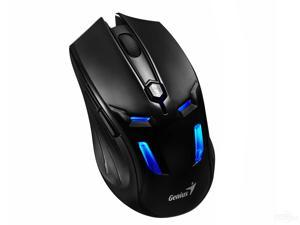 Genius GX310 2000DPI Wired USB Pro Game Gaming Mouse with Adjustable Weight & DPI (Black)