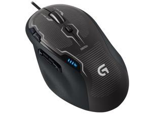 Logitech G500S Adjustable Weight Programmable 10 Buttons 1 x Wheel USB Wired Laser 200 - 8200 dpi Gaming Game Mouse