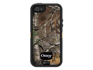 OtterBox Defender Series Case and Holster for iPhone 5 - Retail Packaging - Realtree Camo - Xtra Blaze