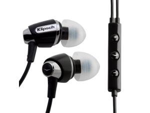 Klipsch Image S4i Premium Noise-Isolating Headset with 3-Button Apple Control.