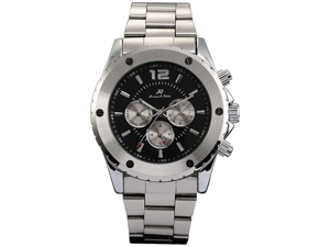 KS Stainless Steel Army Military Automatic Mechanical Mens Sport Watch New
