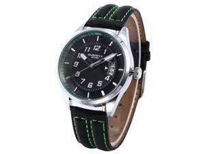 EYKI Flyover Date Sport Japan Movment Leather Strap Mens Quartz Wrist Watch EKI062