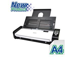 "Avision AD215W Color Duplex 15ppm/30ipm 600dpi Portable Scanner 8.5"" x 14"" Built-in ADF and WiFi"