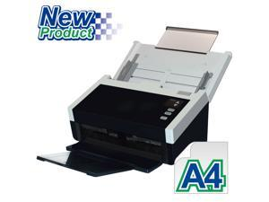 "Avision AD250 Color Duplex 80ppm/160ipm CCD 600dpi Sheetfed Scanner 8.5"" x 14"" LED Instant On One Press"
