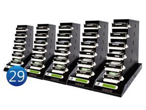"1-29 UReach CT Series Chain Tower 2.5""&3.5"" HDD/SSD  duplicator - High Speed(8.1GB /Mins)"
