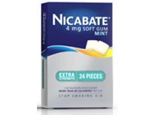 Nicabate CQ Gum Mint 4mg x 24