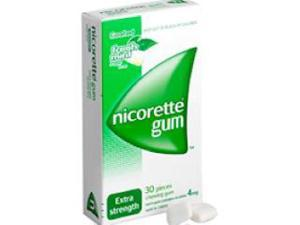 Nicorette Gum Fresh Mint Extra Strength 4mg x 105