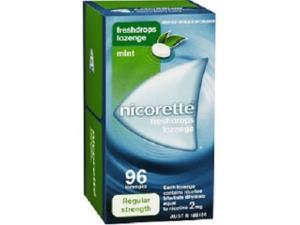 Nicorette Freshdrops Lozenge 2mg x 96 Regular Strength