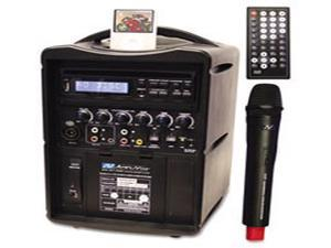 Amplivox Wireless Pa System With Built-In Dvd Player And Ipod Dock