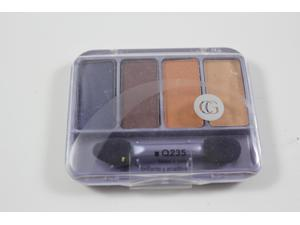 CoverGirl Queen Collection Eye Shadow Quads brass n sass 235, 0.19 Ounce Pan
