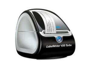 Dymo LabelWriter 450 Turbo Direct Thermal Printer - Monochrome - Label Print - 1.2 lps Mono - USB