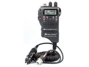 Midland 75 - 822 40 Channel Hh Cb Radio W/ Auto AdapterMidland 75 - 822 40 Channel Handheld Cb W/Mobile Converter Kit
