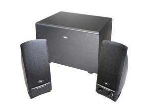 Cyber Acoustics CA-3001rb 2.1 Speaker System - 14 W RMS - Black