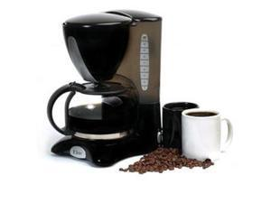 Maxi-Matic EHC-2055 Black 10-Cup Coffeemaker