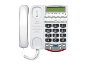 76566 Voice Carry Over Phone - White