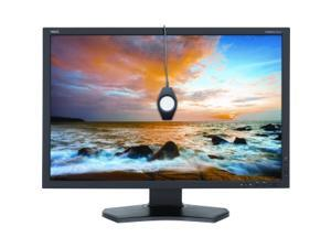 "NEC Display MultiSync P242W-BK-SV 24.1"" LED LCD Monitor - 16:10 - 8 ms"