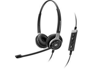 Dual Sided USB Stereo Headset