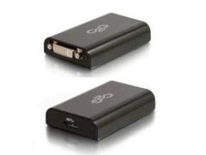 C2G/Cables To Go 30561 USB 3.0 to DVI-D Video Adapter – External Video Card