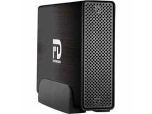 Fantom Drives Professional 1TB USB 3.0 / Firewire400 / Firewire800 / eSATA Aluminum Desktop External Hard Drive GFP1000Q3 Black