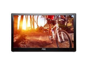 "AOC E1659FWU 16"" LED LCD Monitor - 16:9 - 8 ms"