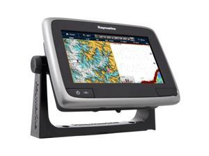 "Raymarine a77 Wi-Fi 7"" MFD Touchscreen w/ClearPulse Digital Sonar - Navionics North America Gold +3,000 Lakes (E70167-GLD)"