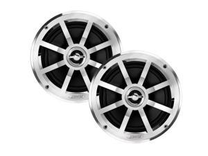 "JENSEN MSX60CP 6.5"" Coaxial Speakers - Silver/Black - Pair (MSX60CP)"