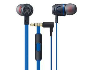 PHIATON C450S DARK BLUE BASS BOOST EARPHN/MIC BLU