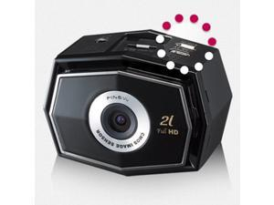 FineVu CR-2i FULL HD 2-Channel Car Dash Cam Black Box w/ SONY CMOS Sensor