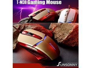 2014 NEW 6D SunSonny T-M30 Iron Man 6 Buttons X3 Optical Usb Gaming Mouse Mice for Razer WOW CS CF FPS LOL Gamer - OEM