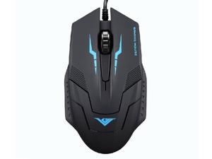 RAJFOO i5 1600DPI 6D Optical Wired USB Gaming Mouse for Gamer PC Laptop Home Office User - Ergonomic Design, Comfortable ...