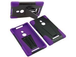 Armor Hard Shell Stand Cover Case For TMobile Nokia Lumia 925