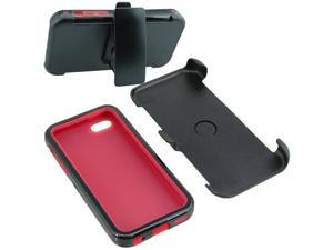 Armor Hard Shell Holster Clip Combo Case For Apple iPhone 5C