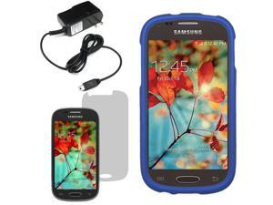 Protector Hard Shell Cover Case For Samsung Galaxy Light T399 LCD Home Charger