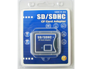 Komputerbay SD / SDHC / MMC Card to Compact Flash Type II Adapter - OEM